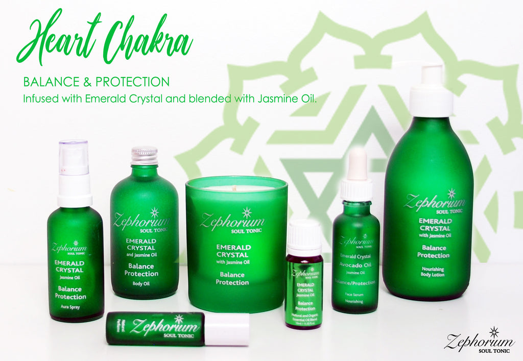 Emerald Crystal Aromatherapy Zephorium Collection