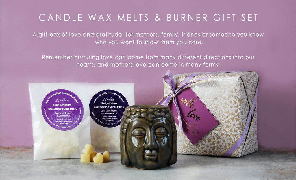 Non Toxic Wax Melts and Wax Melts Burner Gift Set - Mothers Day Gift Set
