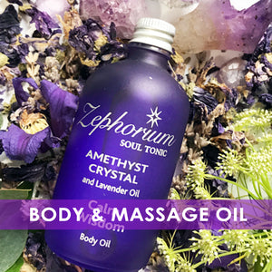 Aromatherapy Massage & Body Oil