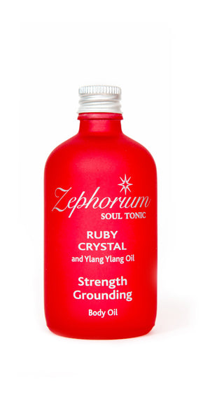 Ruby Crystal Body Oil 100ml