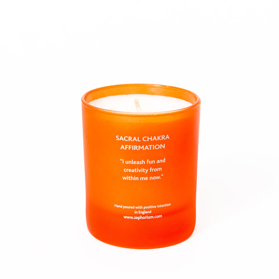 Carnelian Crystal Coconut Wax Aromatherapy Candle
