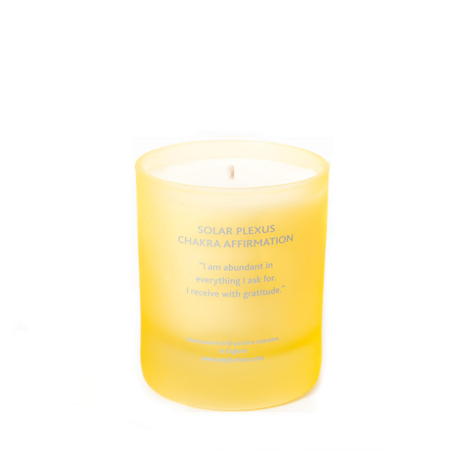 Citrine Crystal Coconut Wax Aromatherapy Candle