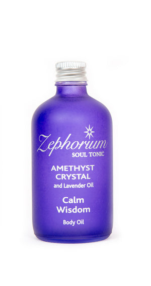 Amethyst Crystal Body Oil 100ml