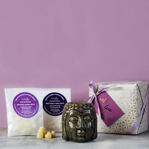 Meditation Wax Melts & Burner Gift Set