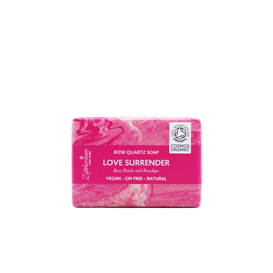 Love& Surrender Organic Aromatherapy Soap - Rosehips