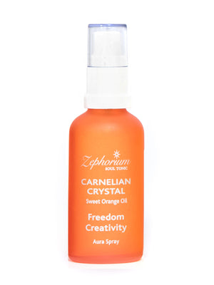 Carnelian Crystal Aura Spray 50ml