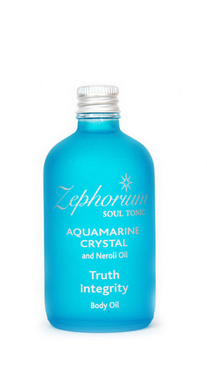 Aquamarine Crystal Body Oil 100ml