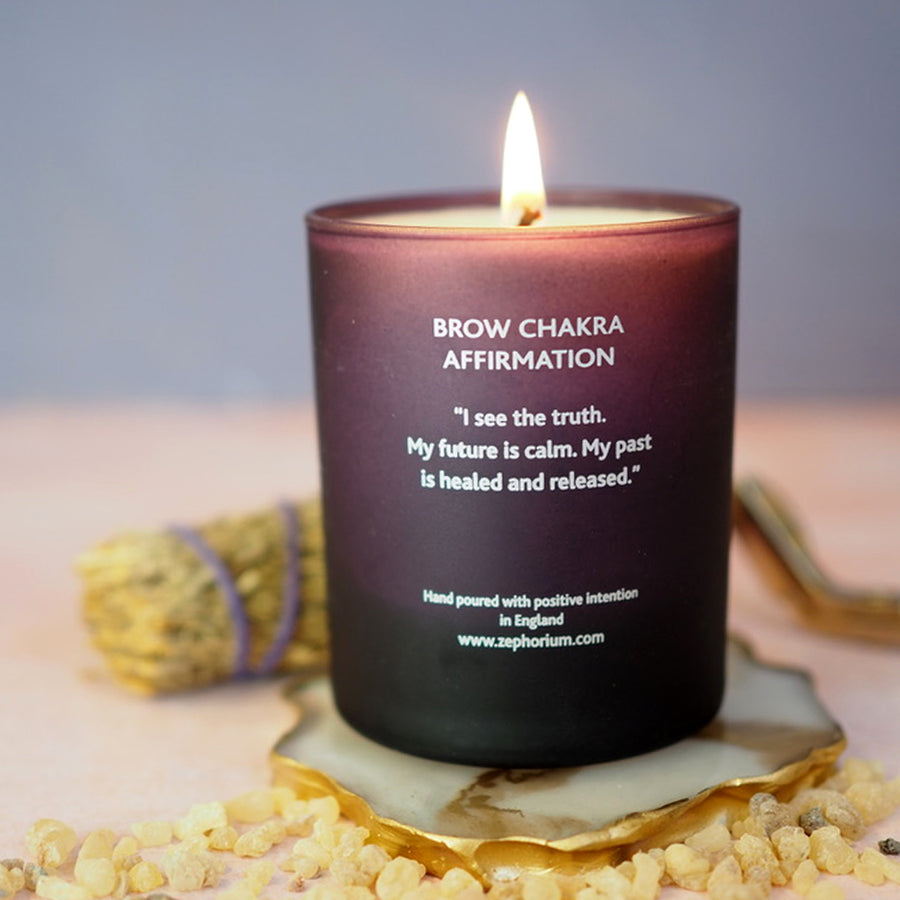 Clarity & Vision with Frankincense Affirmation Candle
