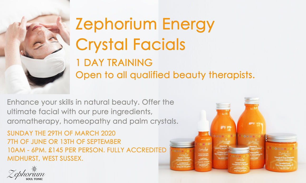 TICKET: Energy Crystal Facial Training