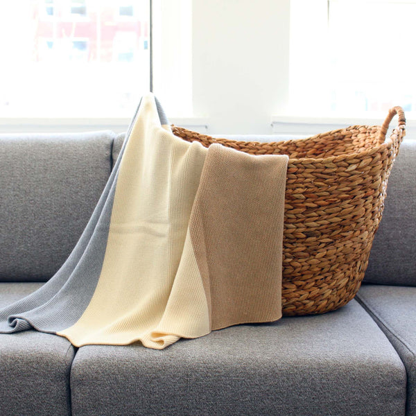 koko's nest | Modern Heirloom baby blanket THAYER