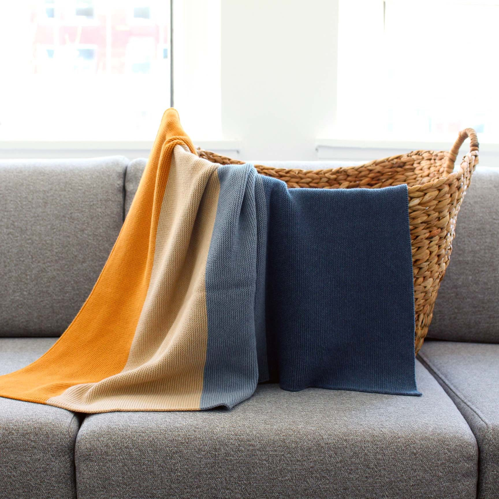 koko's nest | Modern Heirloom baby blanket WELD