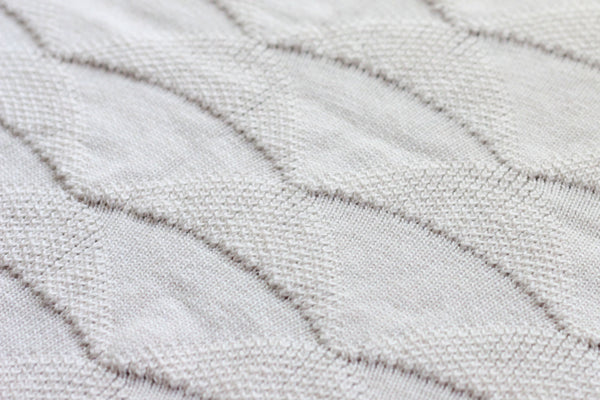 koko's nest | KITE organic cotton knit baby blanket