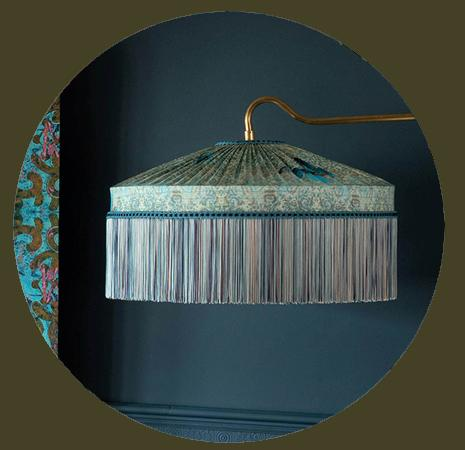 Silk Fringed Lampshades