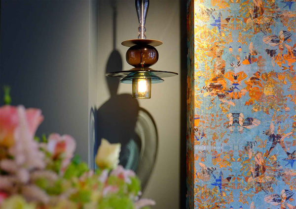 Mary wallpaper in London showroom