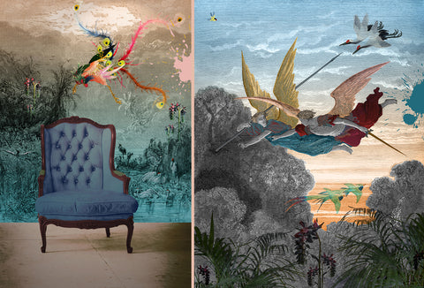 Bespoke Wall Murals And Wall Hangings In Velvet Or Silk Custom Made To Fit Your Wall Space Blackpop Designer Wallpaper Luxury Fabric Bespoke Furniture
