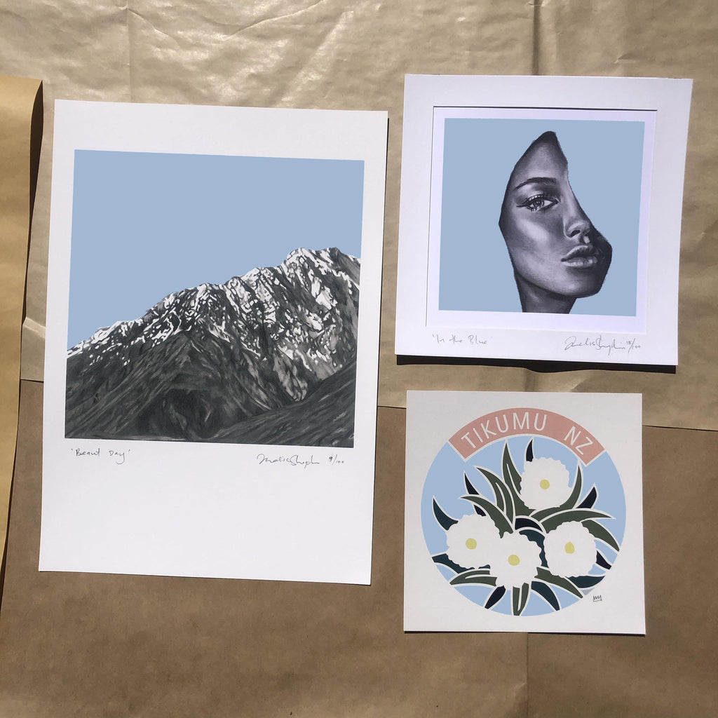 True Blue 3 prints for you