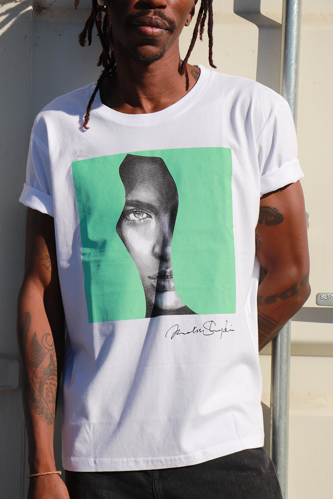 Mint As - CLASSIC TEE - White