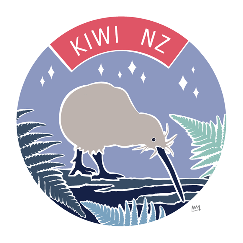 KIWI, NZ - WINTER PALETTE