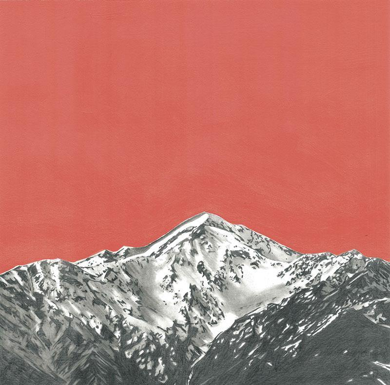 Mt Fyffe at Sunset - A2 Giclée Print - Melissa Sharplin