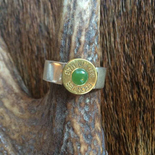 Lady Hunter Ring With Thick Band