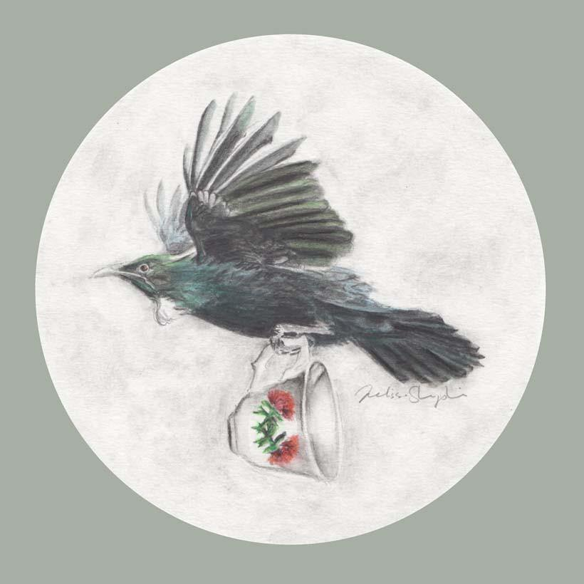 Tui and Teacup - Melissa Sharplin