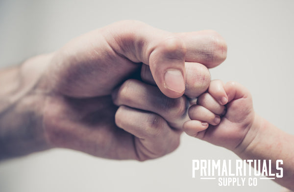 Fist Bump Fathers Day with Primal Rituals