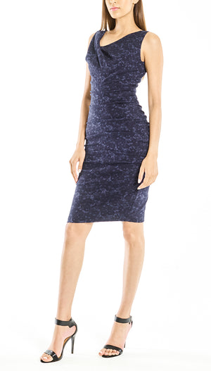 Ruched Body Fit Dress