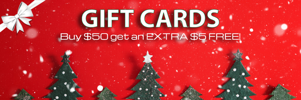 Buy $50 in Gift Cards get EXTRA $5 FREE