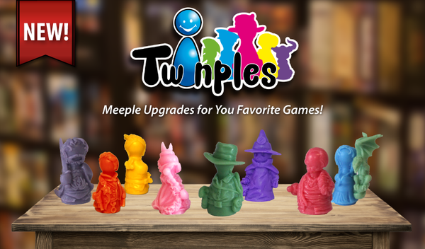 Twinples - Meeple Upgrades - Top Shelf Gamer