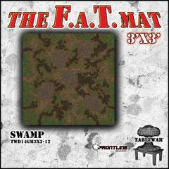 F.A.T. Mat: Swamp 3x3' [clearance] - Top Shelf Gamer