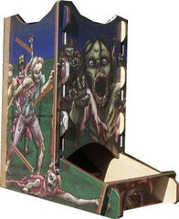 Knockdown Dice Tower: Zombies! - Top Shelf Gamer