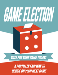 Game Election [clearance] - Top Shelf Gamer - 1