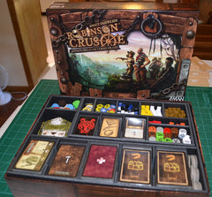 Robinson Crusoe Foamcore Insert (pre-assembled) - Top Shelf Gamer - 1