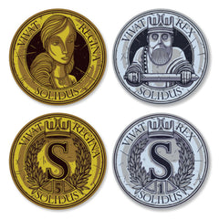 Feudum™ Custom Metal Coins (set of 50)