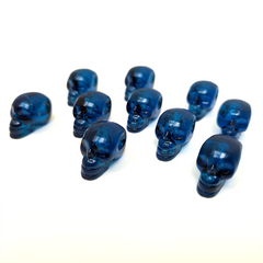 Blue Skulls (set of 10)
