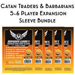 Card Sleeve Bundle: Catan ® Traders & Barbarians with 5-6 Player Extension