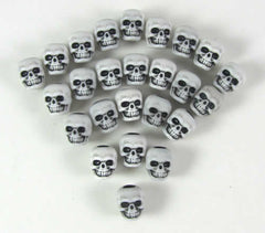 White Skull Counters (set of 25) - Top Shelf Gamer
