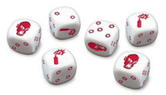 Zombicide: Dice Pack - White Dice - Top Shelf Gamer