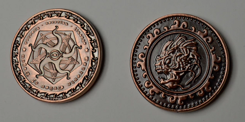 Cthulhu Copper Coins (set of 10)