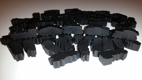 Black Train Set (set of 50)