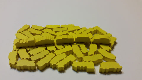 Yellow Train Set (set of 50)