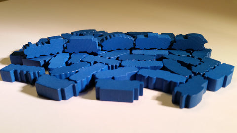 Blue Train Set (set of 50)