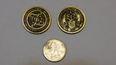 Fire Gold Coins (set of 10)