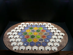 Settlers of Catan Seafarer 4 player or 6 player Board - Top Shelf Gamer - 1