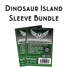 Card Sleeve Bundle: Dinosaur Island™