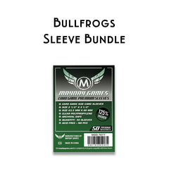 Card Sleeve Bundle: Bullfrogs™
