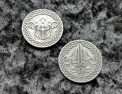Valkyrie Silver Coins (set of 10) - Top Shelf Gamer