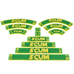 Maneuver Gauge Set - Scum (set of 11) - Top Shelf Gamer