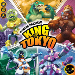 King of Tokyo : 2nd Edition [clearance] - Top Shelf Gamer