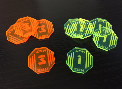 ISK Tokens (set of 30)